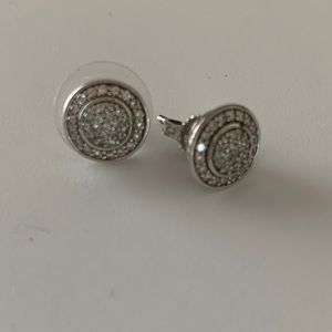 Authentic David Yurman Diamond Earrings